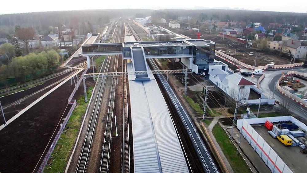 22 апреля в Москве открыли вокзал «Внуково» после реконструкции