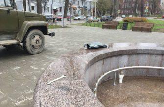 В Смоленске начали включать городские фонтаны