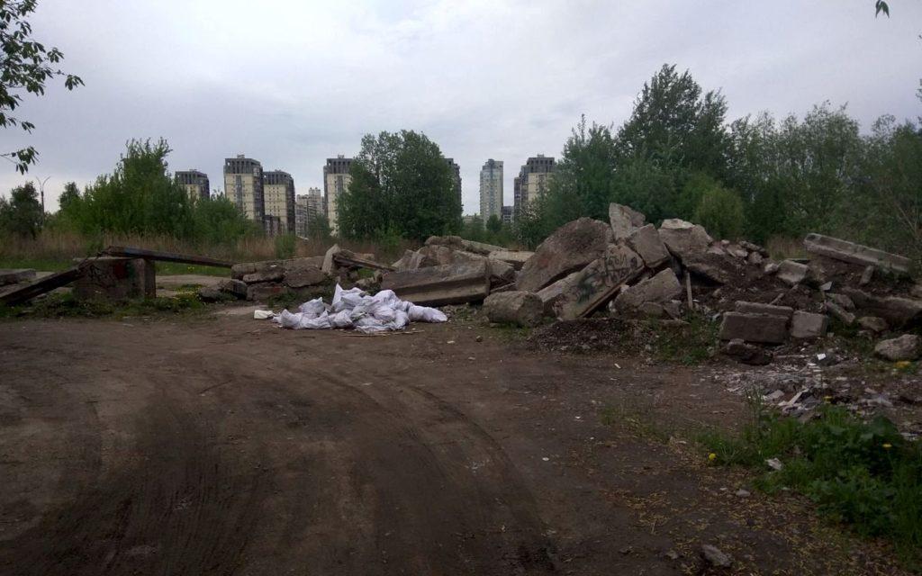 Васильевский остров погряз в отходах