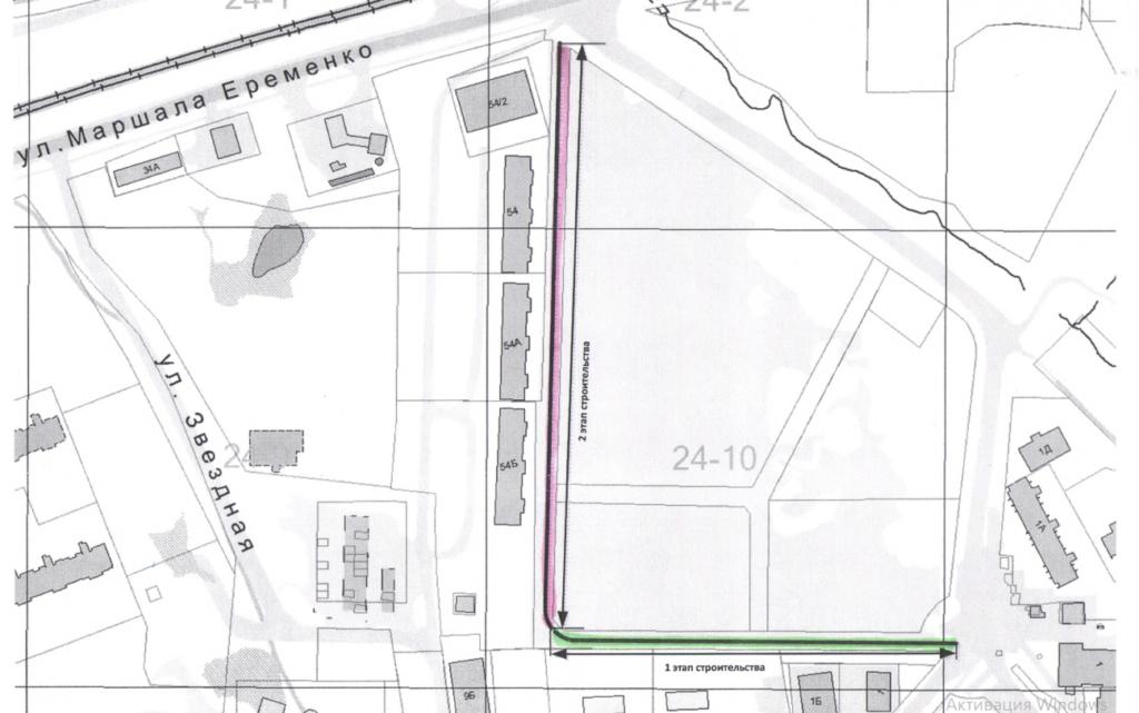 В Смоленске планируют построить новую дорогу на Королевке