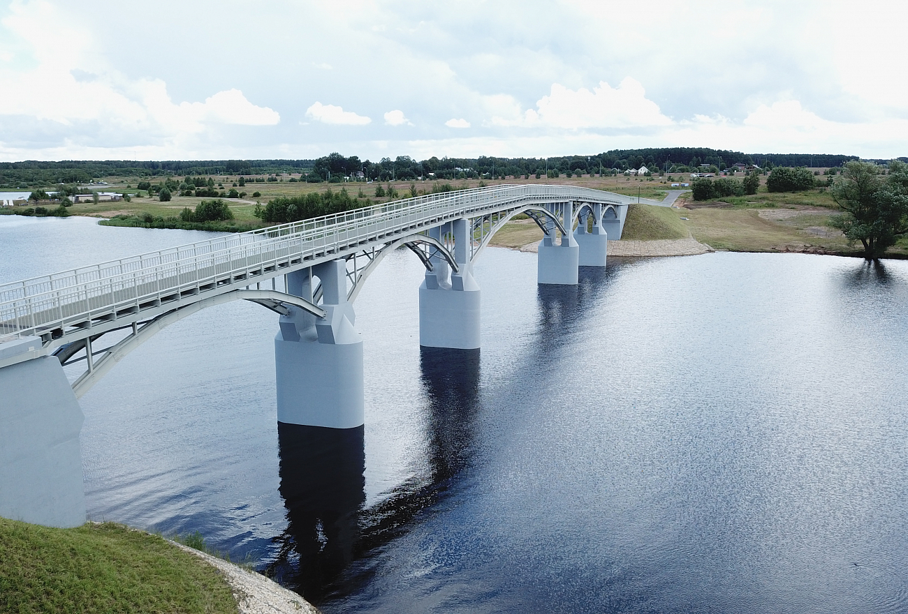 туризм, мост, Тверская область