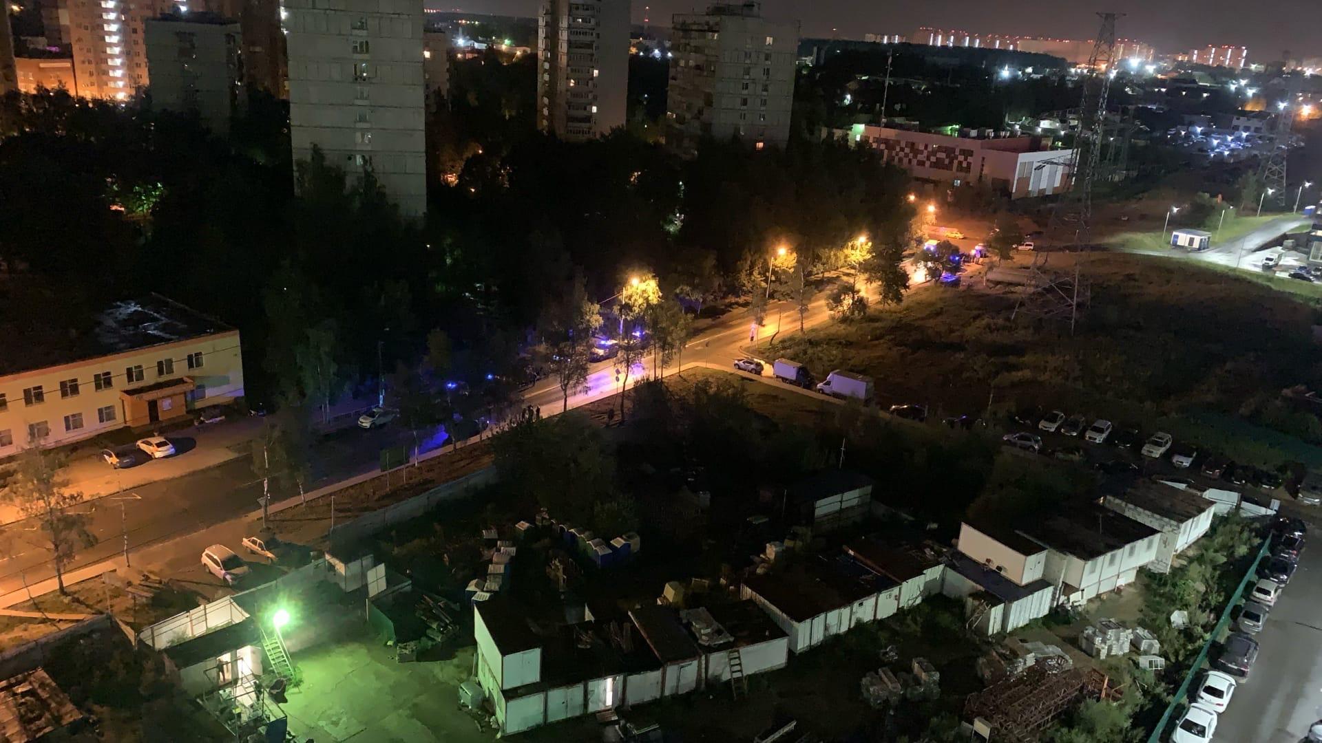 Одинцово, полиция, МВД, вечер, разборки, мигранты