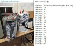 Наблюдатели заявили о вбросах во время надомного голосования в Выборгском районе Петербурга